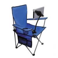 CTA Digital Folding Lawn Chair with Adjustable Universal ...