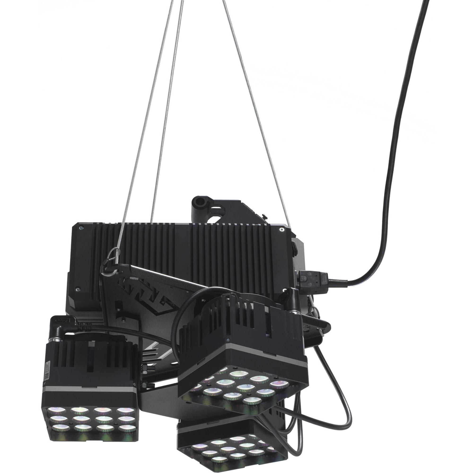 hight resolution of digital sputnik ds3 spacelight 6 led module dmx rdm wired system