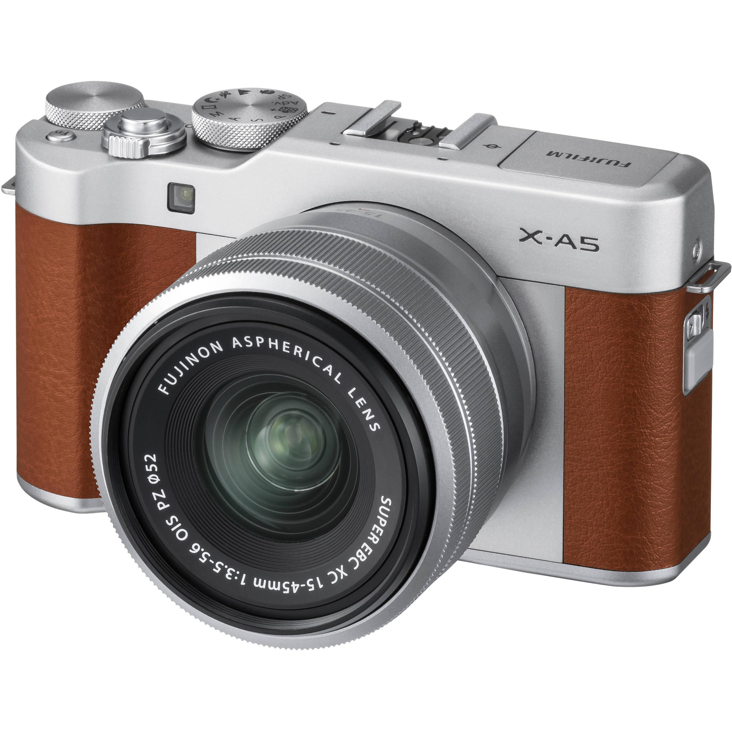 FUJIFILM X-A5 Mirrorless Digital Camera with 15-45mm 16568913