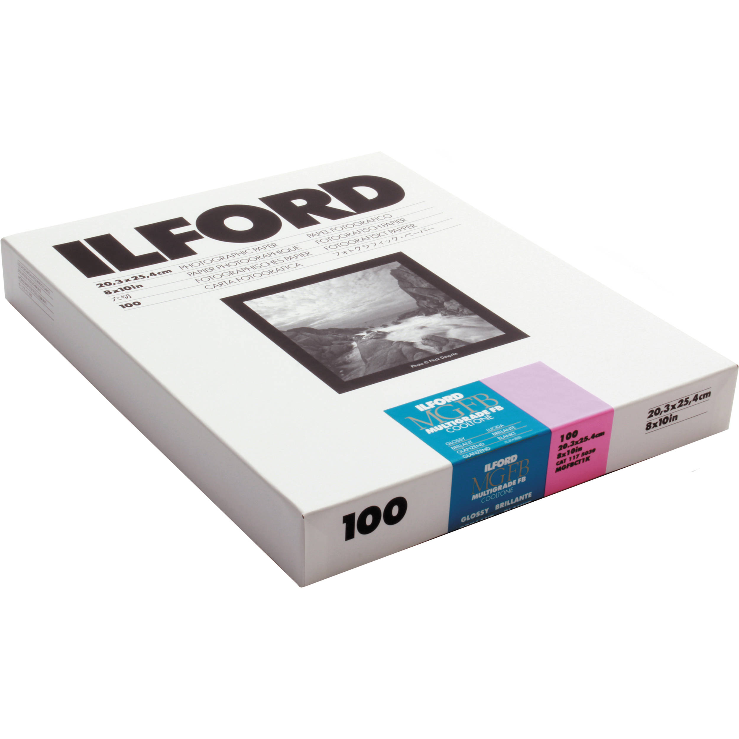 Ilford Multigrade Fb Cooltone Variable Contrast Paper