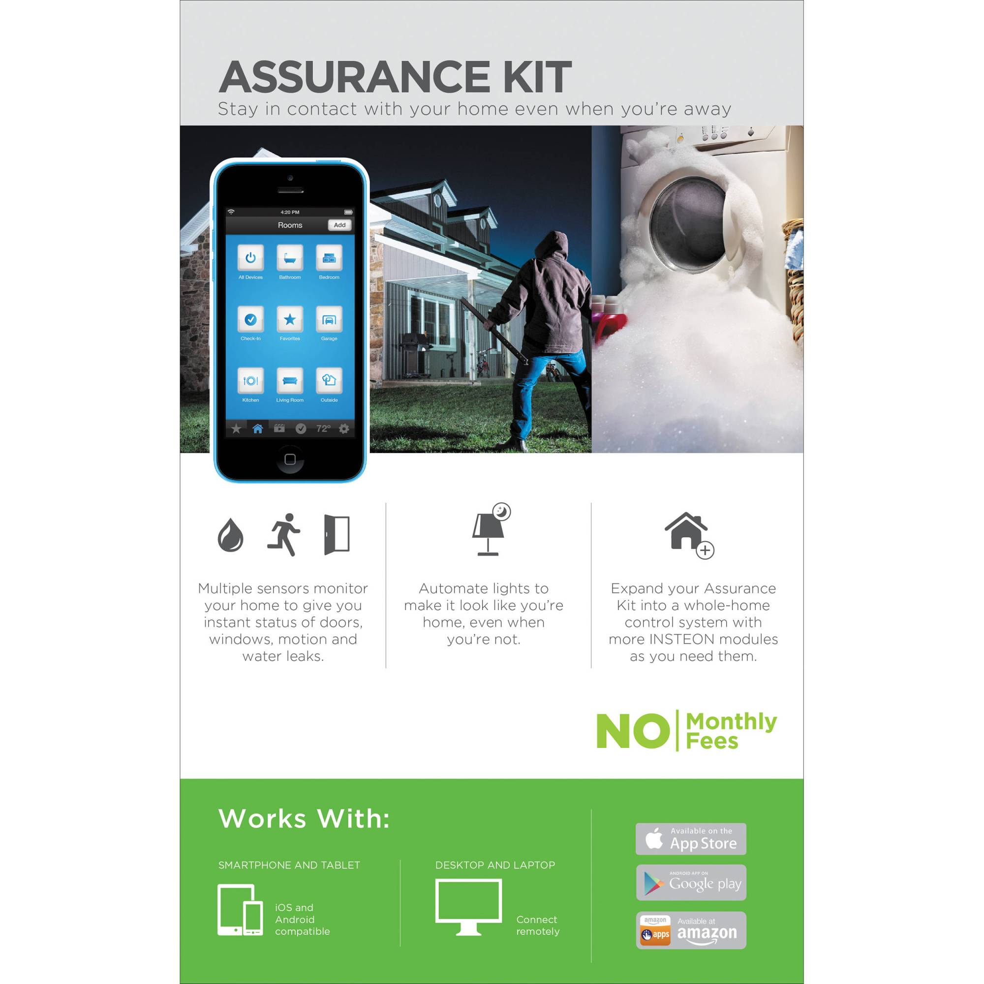hight resolution of insteon assurance home automation kit