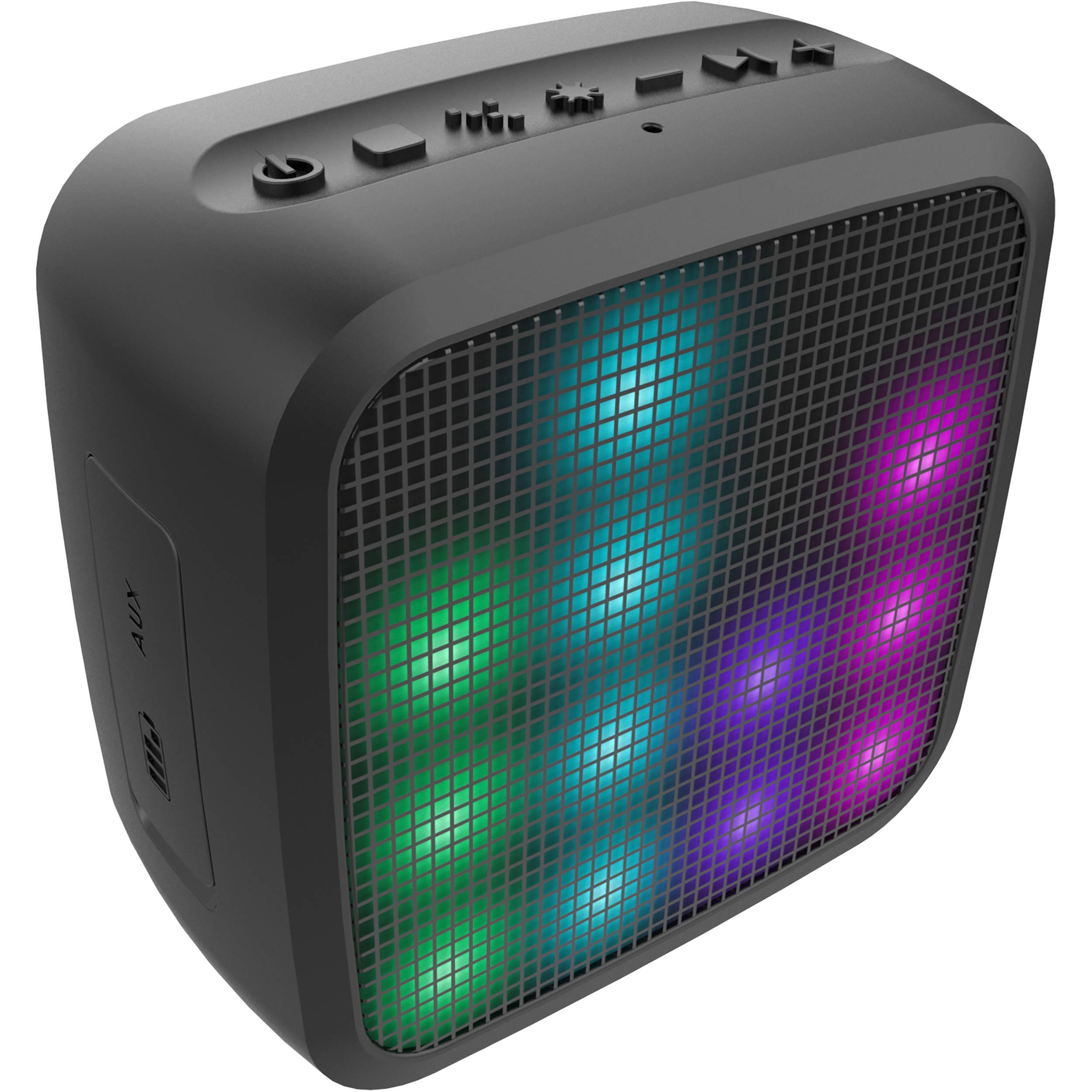 jam Trance Mini LED Bluetooth Light Show Speaker HXP460 BH