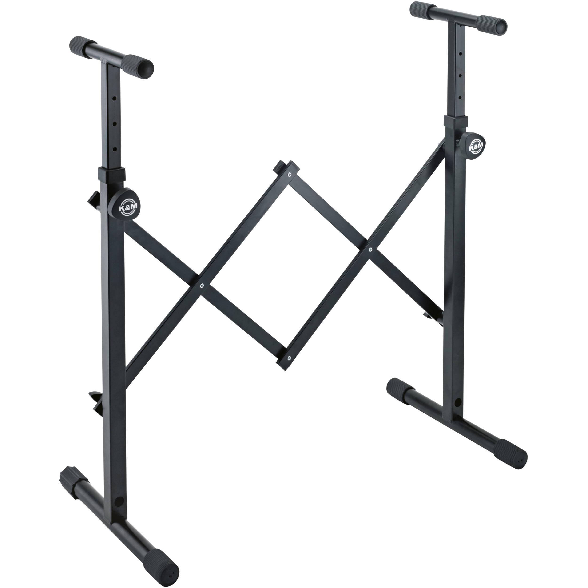 K&M Equipment All-Round Stand (Black) 18826.000.55 B&H Photo