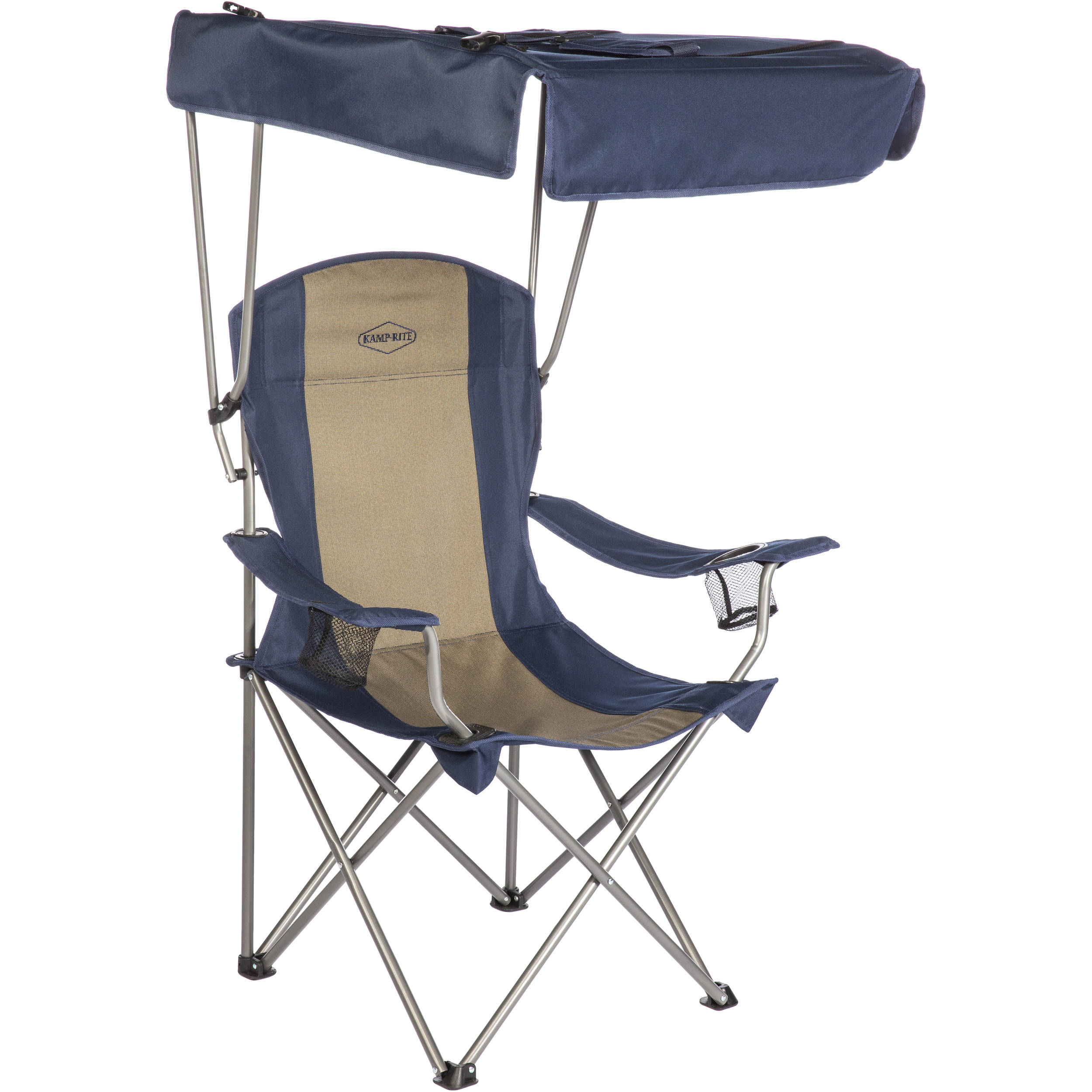 KAMPRITE Folding Chair with Shade Canopy CC463 BH Photo