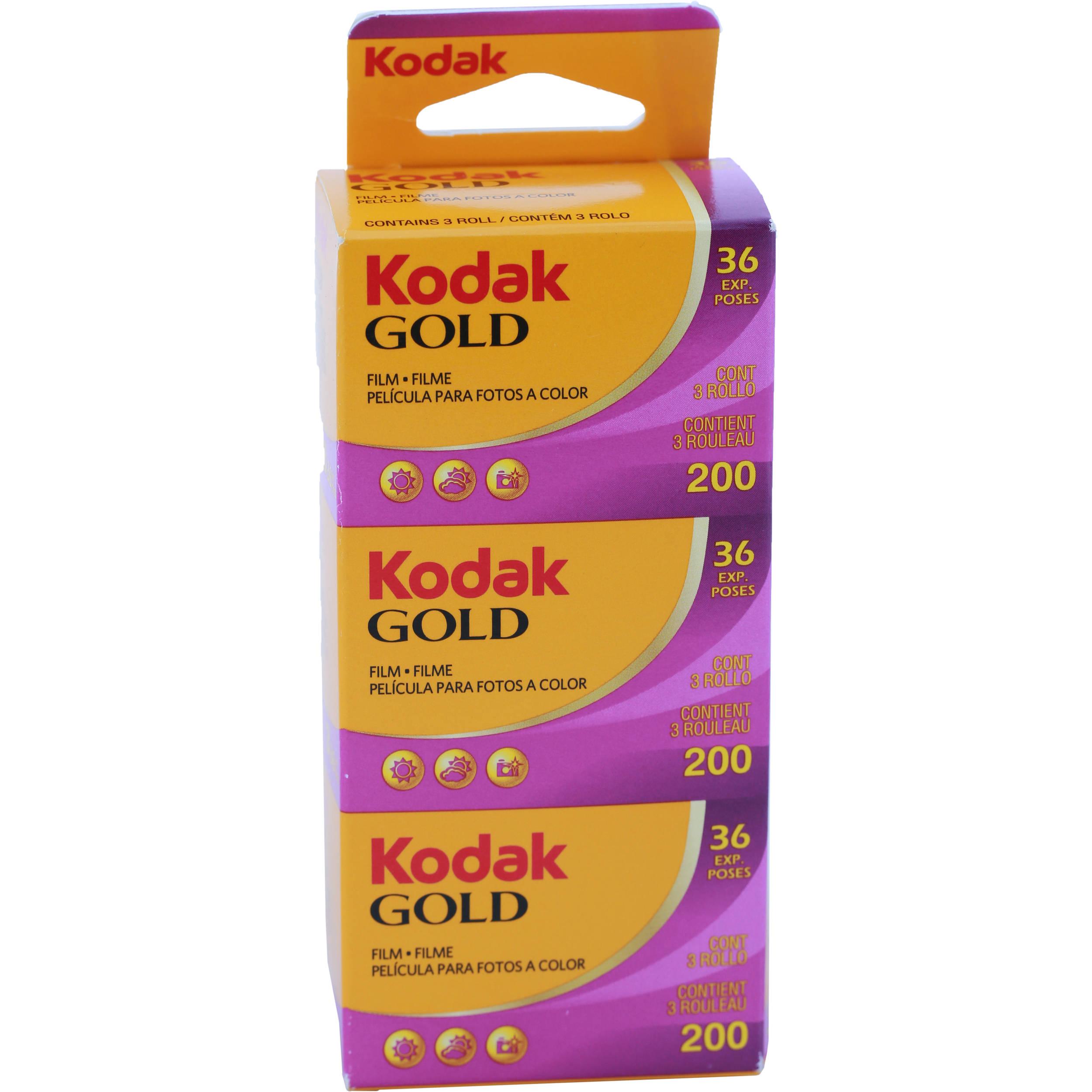Kodak GOLD 200 Color Negative Film 1880806 B&H Photo Video