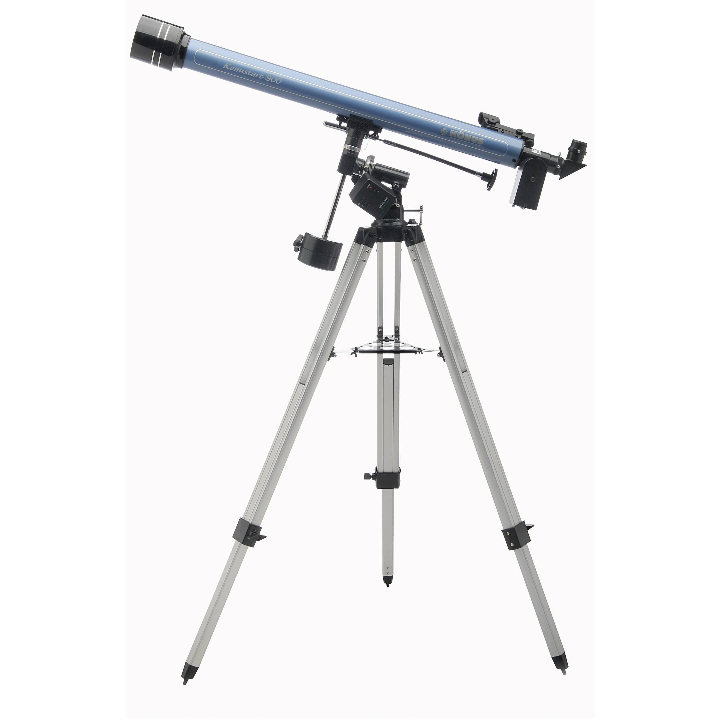Konus Konustart-900 60mm f/15 Refractor Telescope 1741 V2 B&H