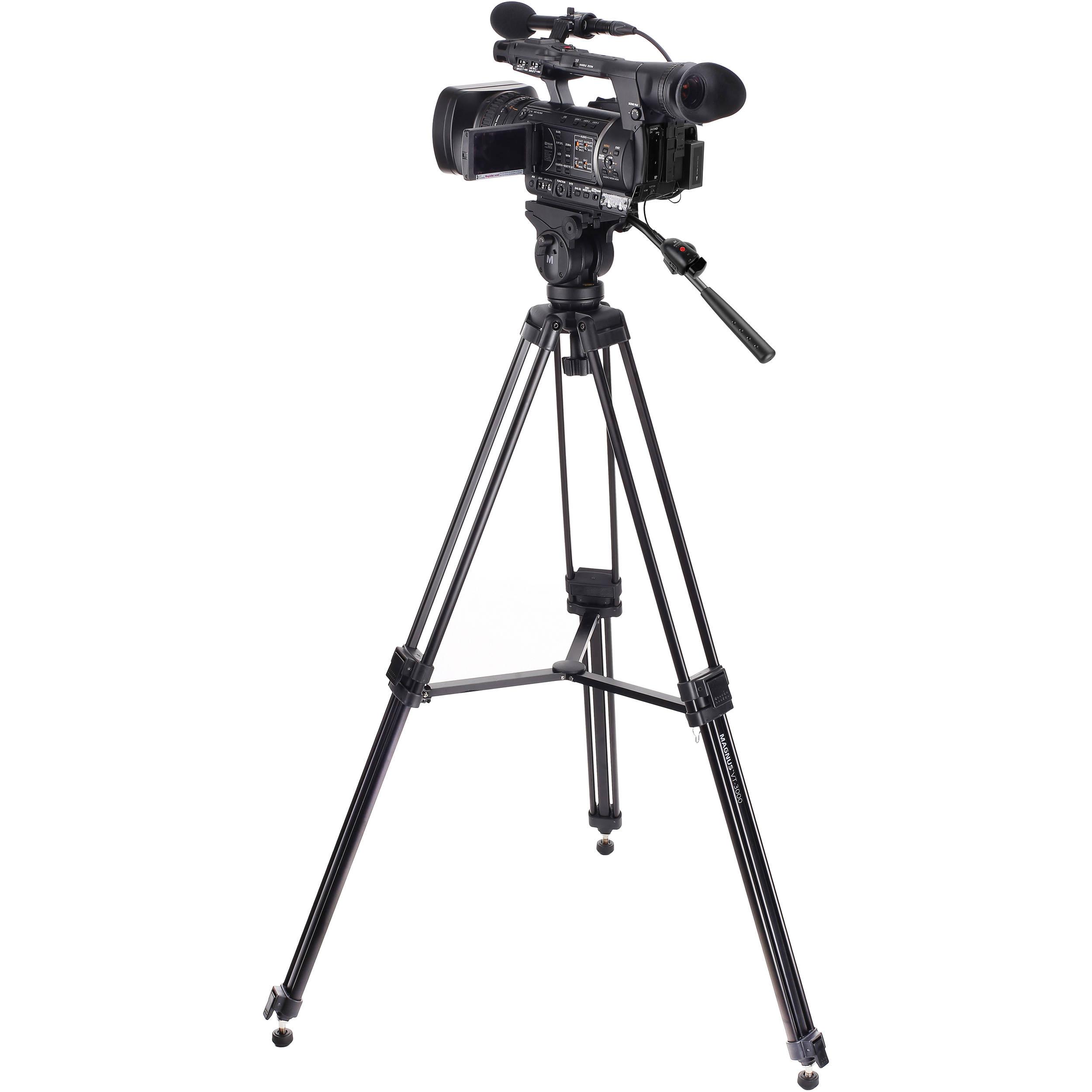 Magnus VT-3000 Tripod & Zoom Controller Kit VT-3000-K1 B&H