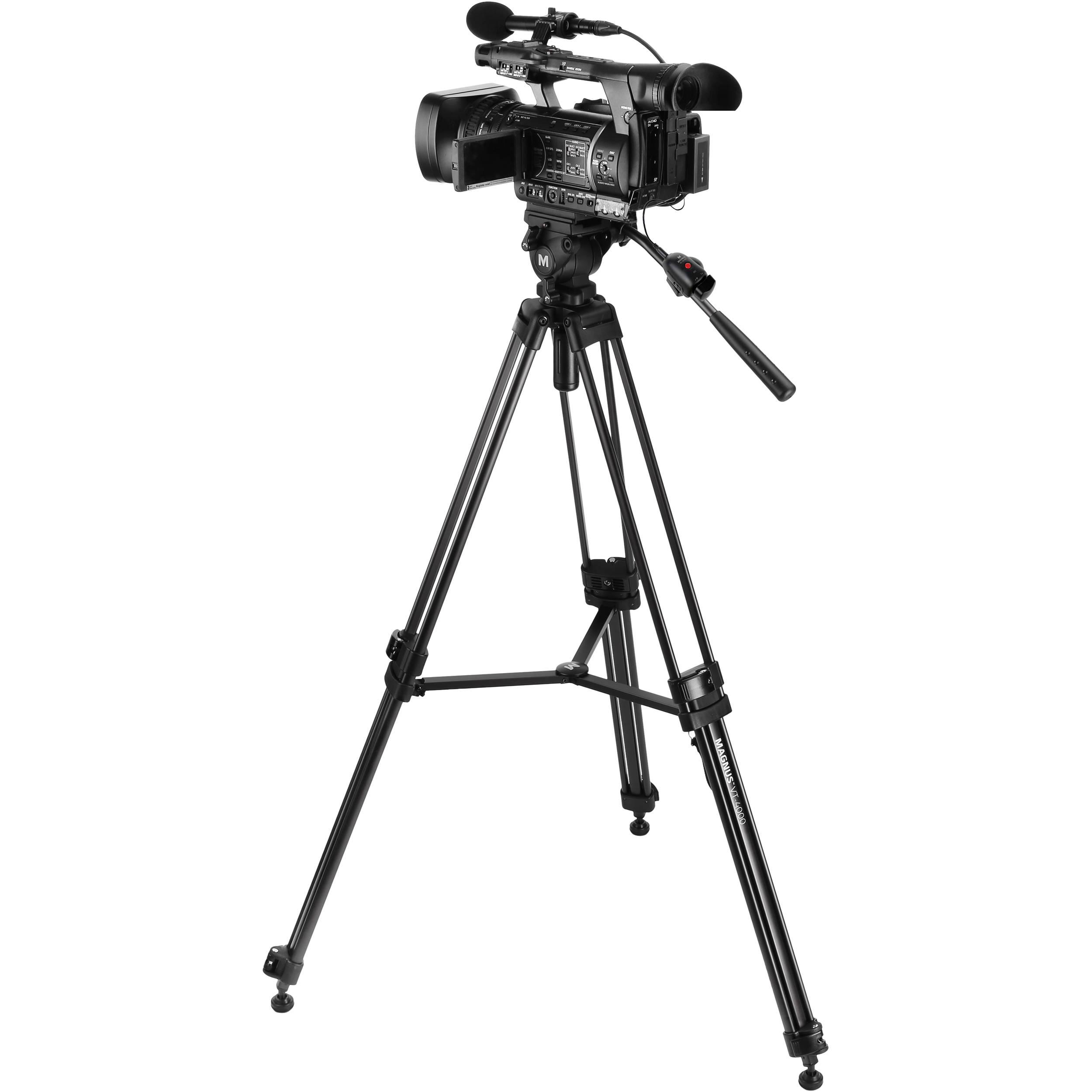 Magnus VT-4000 Tripod & Zoom Controller Kit VT-4000-K1 B&H