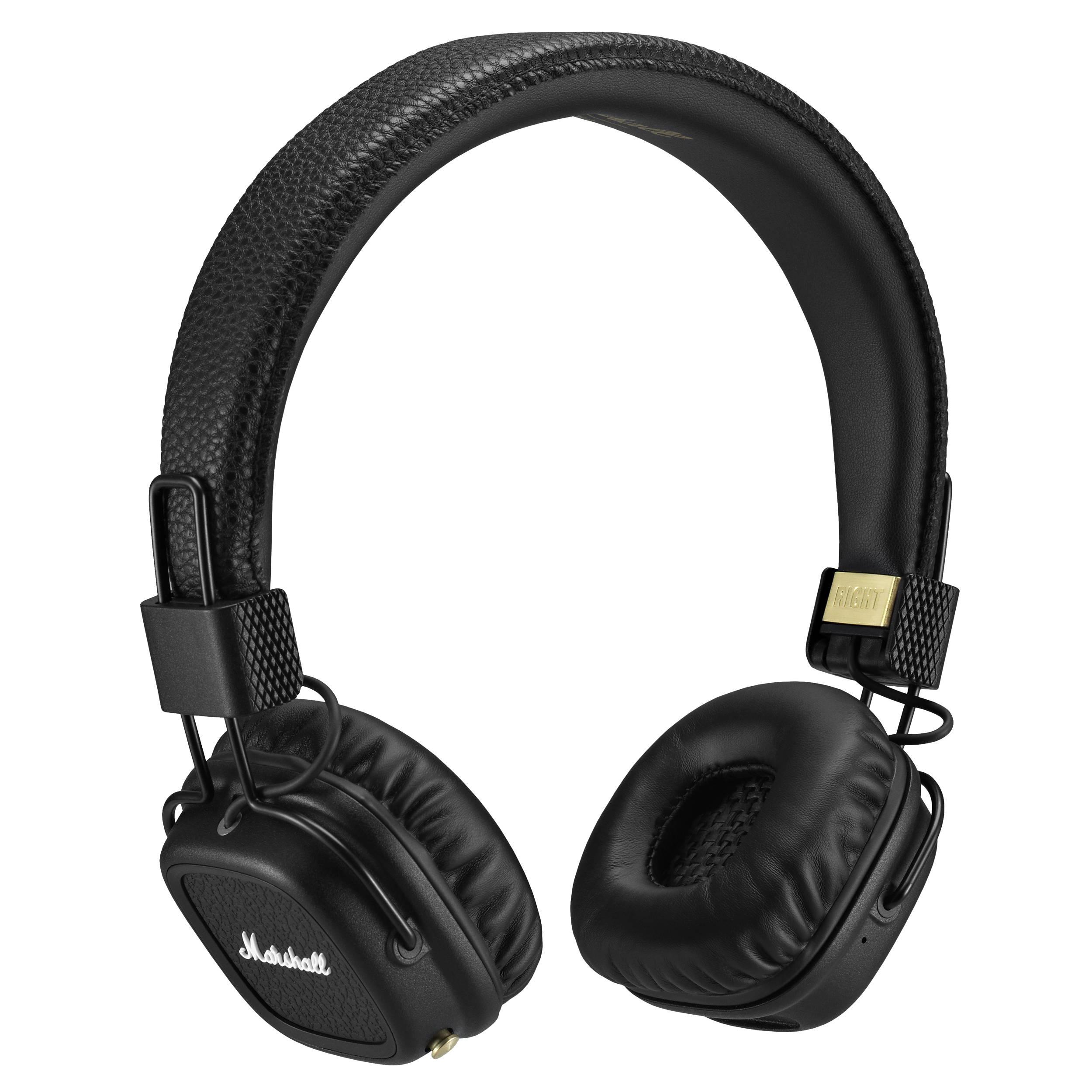 Marshall Major II Bluetooth Headphones (Black) 4091378 B&H Photo