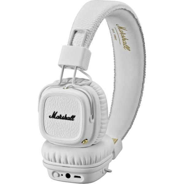 Marshall Audio Major II Bluetooth Headphones White