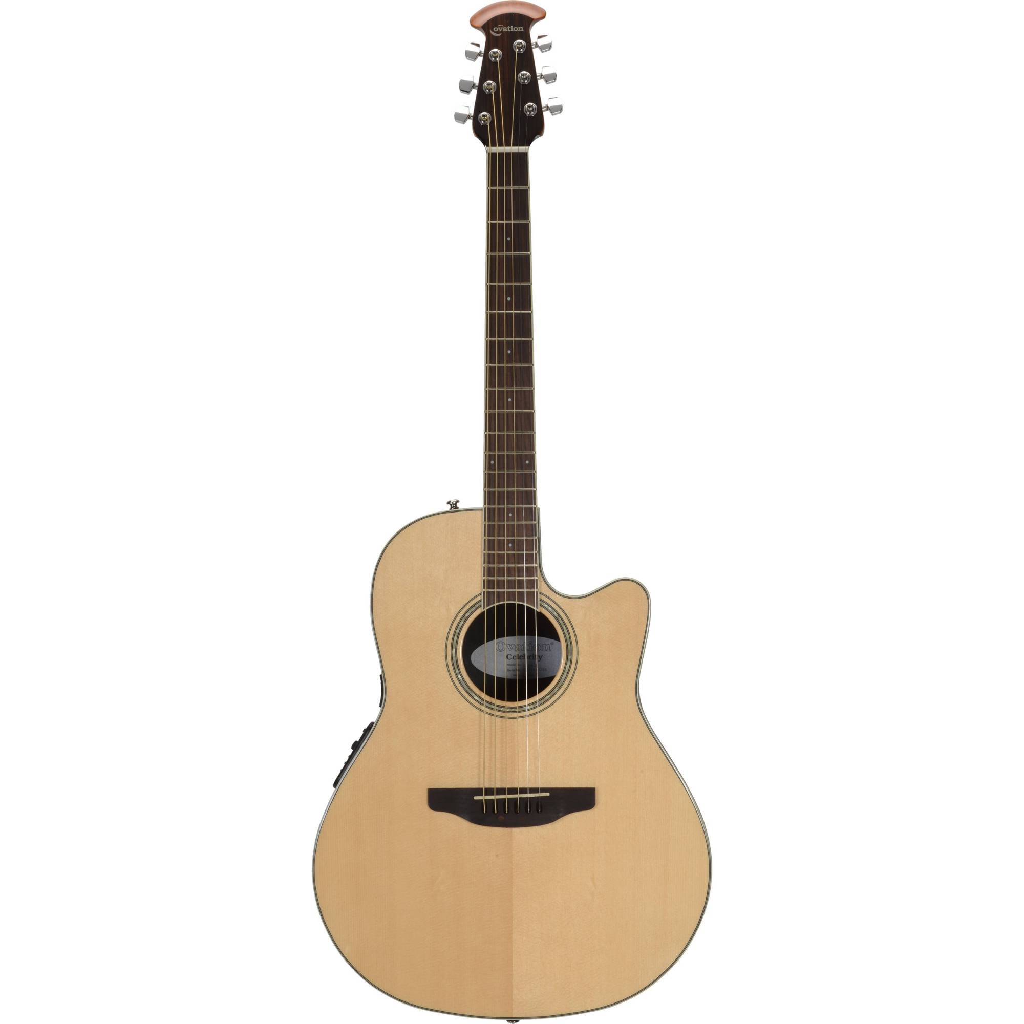 hight resolution of ovation celebrity standard series cs24 4 acoustic electric guitar natural