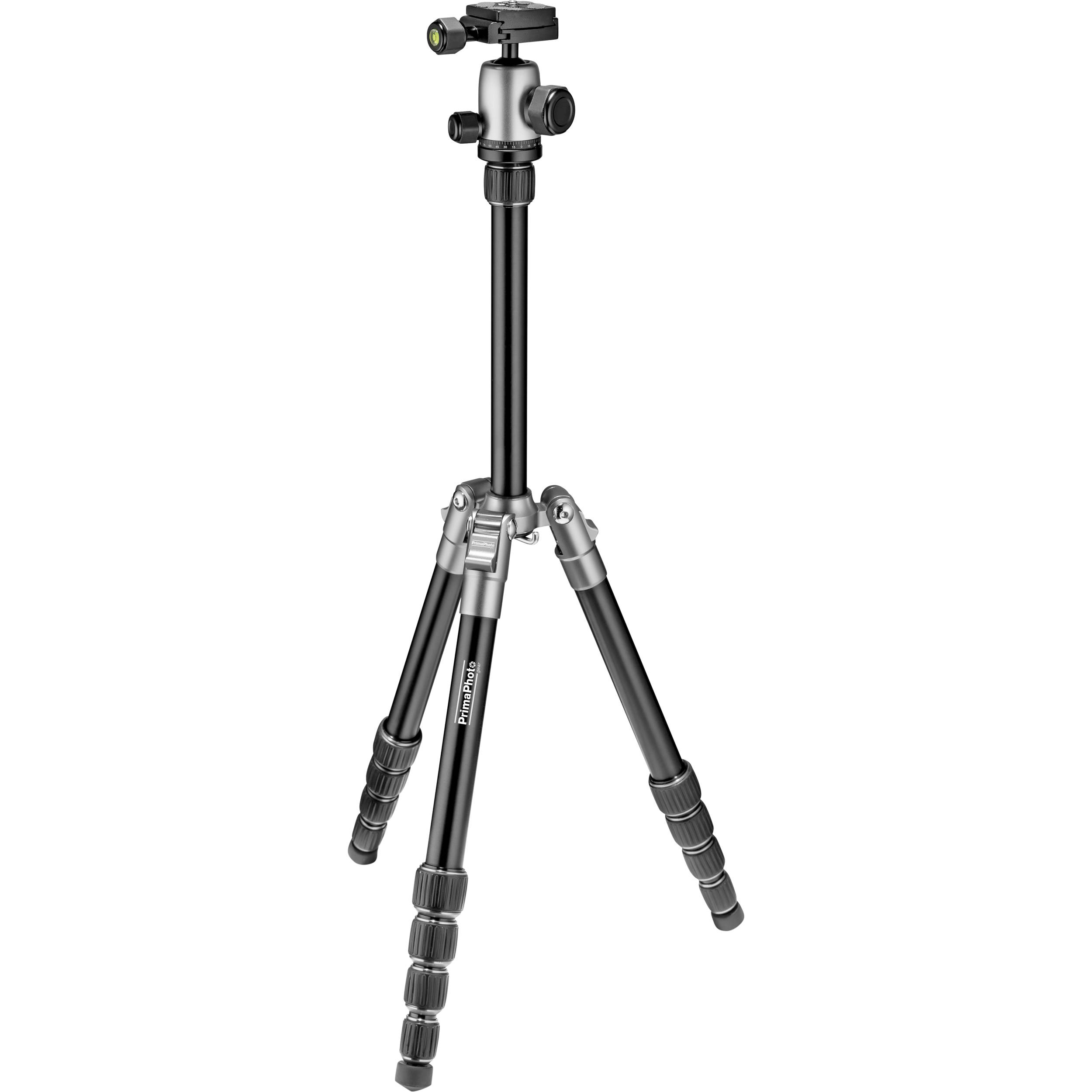 Prima Photo Small Travel Tripod (Silver) PHTRSSL B&H Photo