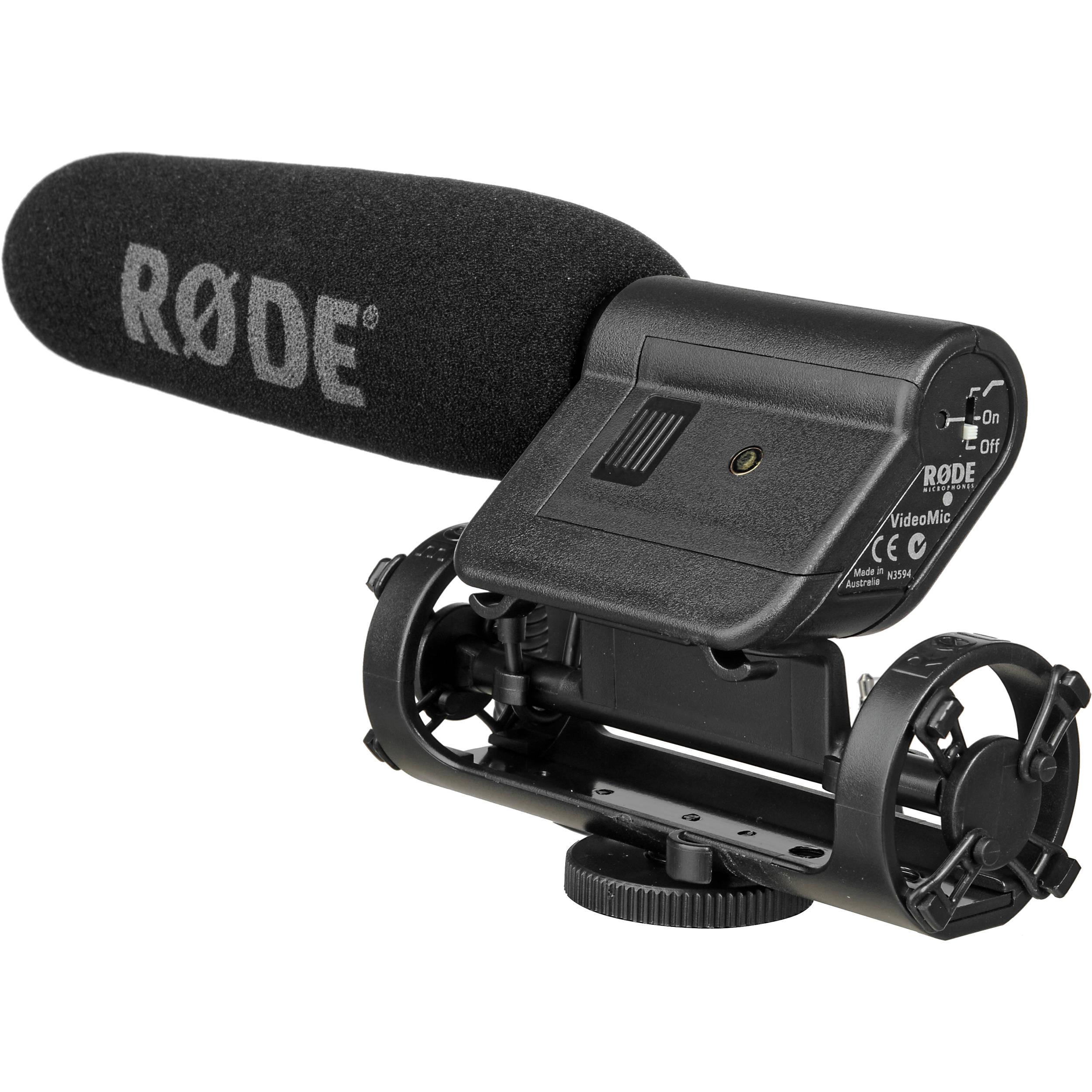 Rode VideoMic - Camera Mounted Shotgun Microphone B&H Photo