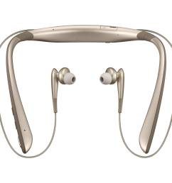 samsung level u pro bluetooth wireless headphones bronze  [ 2500 x 2500 Pixel ]