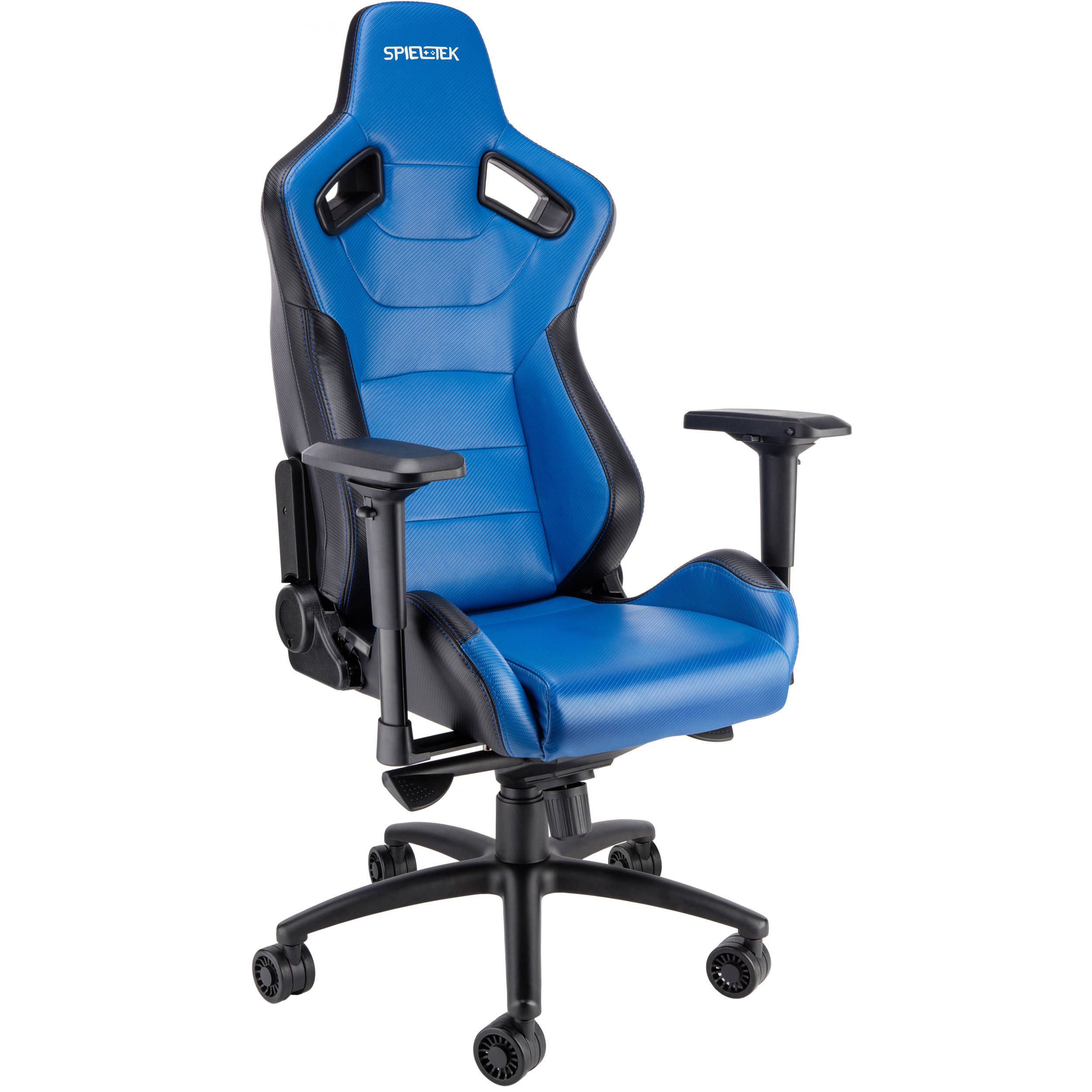 gaming chairs dining with casters uk spieltek admiral chair blue gc 321 bbl b h photo video