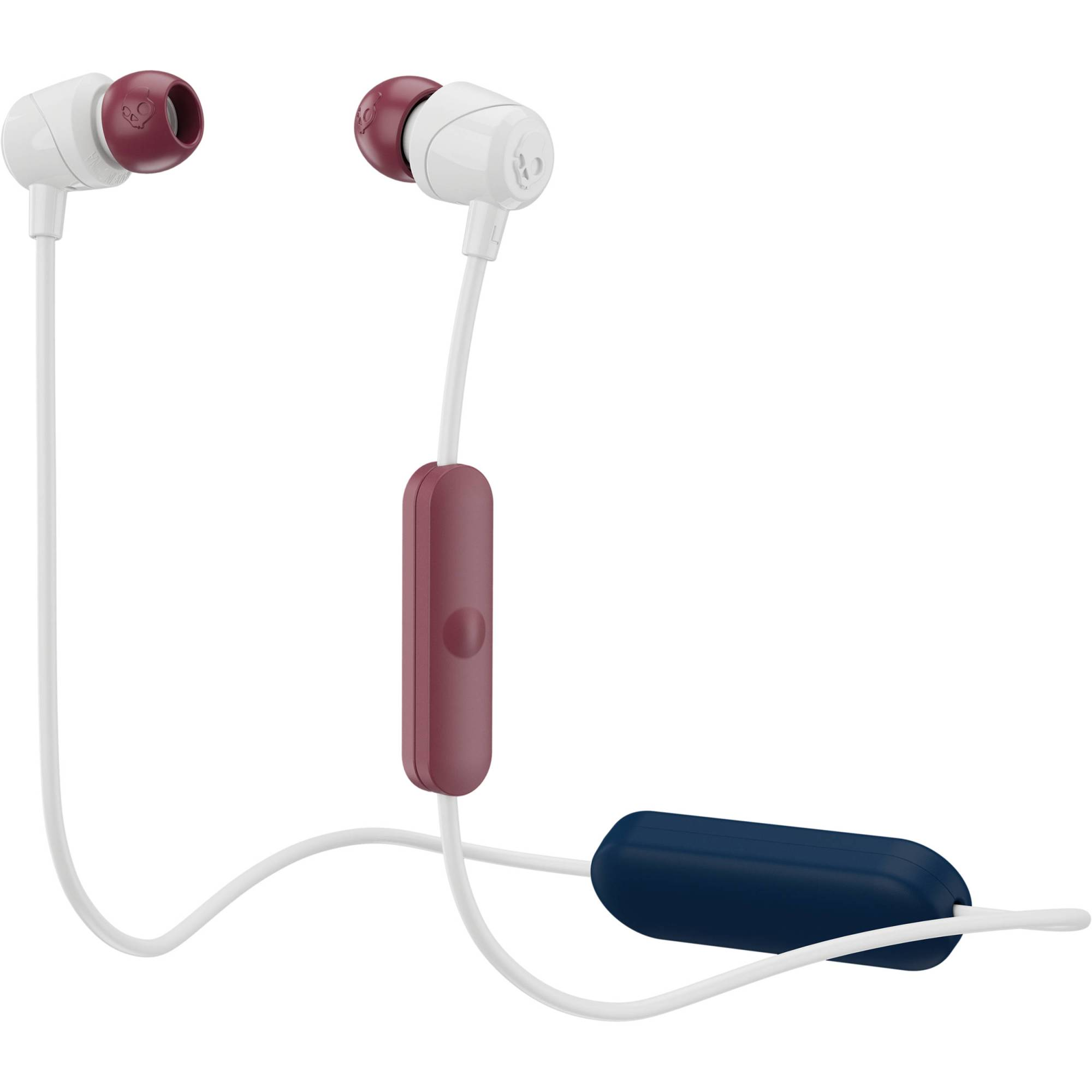 hight resolution of skullcandy jib wireless earbuds vice gray crimson
