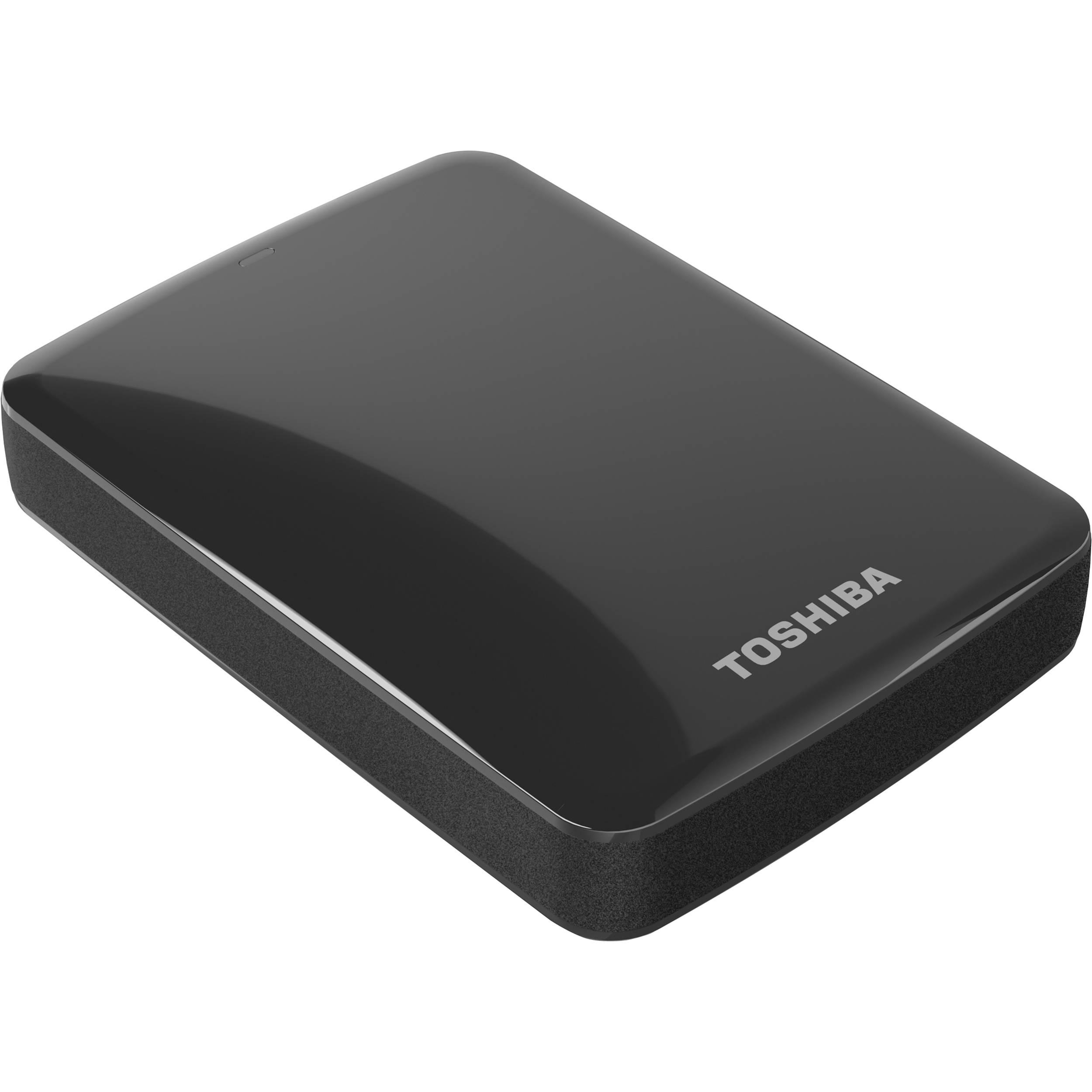 Toshiba 2TB Canvio Connect USB 3.0 Portable Hard HDTC720XK3C1