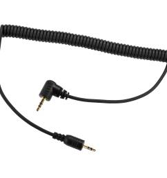 vello 2 5mm remote shutter release cable for cameras with 2 5mm sub mini connections [ 2500 x 2500 Pixel ]