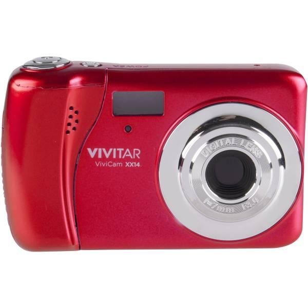 Vivitar Vivicam Xx14 Digital Camera Red Vxx14-red-wm &