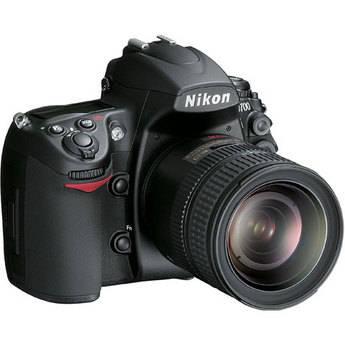 Nikon D700 SLR Digital Camera with Nikkor 24-120mm VR Lens