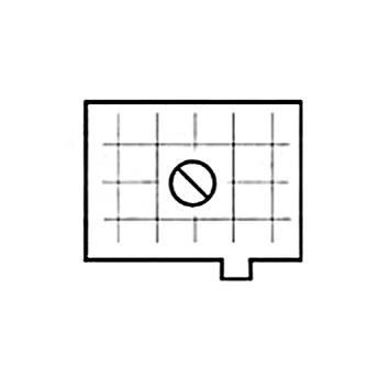 Beattie Intenscreen Split Image Diagonal Grid for Nikon 82165