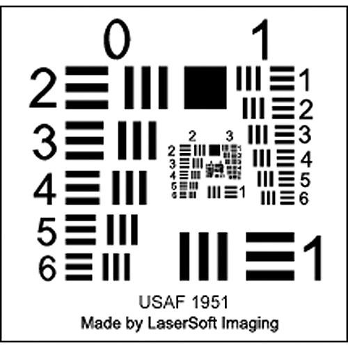 LaserSoft Imaging SilverFast Resolution Target LA1211 B&H