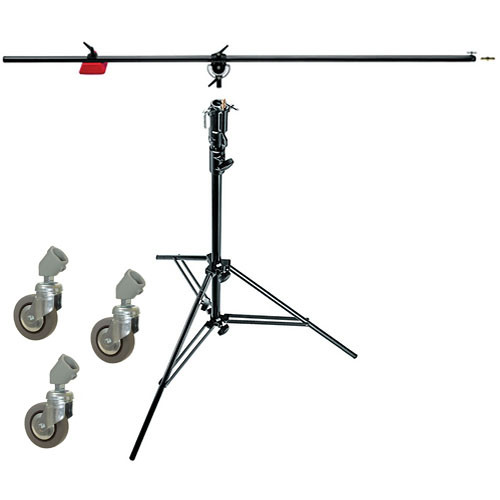 Manfrotto 085BS Heavy-Duty Boom and Stand (Black) 085BS B&H