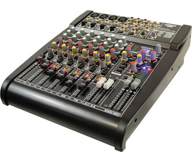 Pyle Pro Pexm Channel Stereo Mixer With 24 Bit Fx Processor