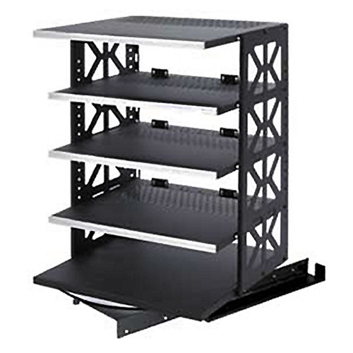 Raxxess St Rotr 42 Steel Rotating Rack System With 6 Strotr 42