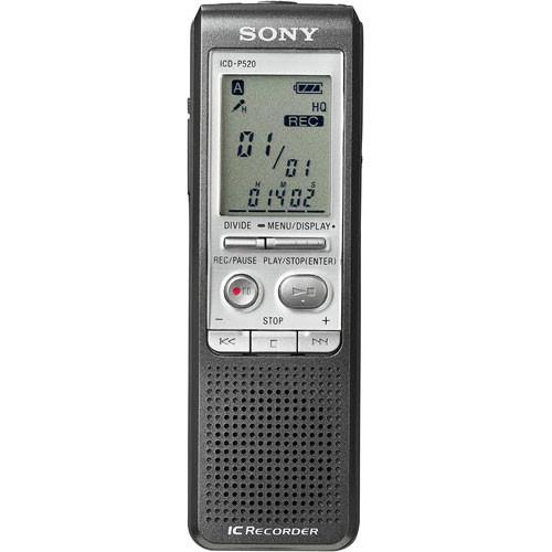 Sony DEMO ICD-P520 Digital Voice Recorder ICDP520 B&H