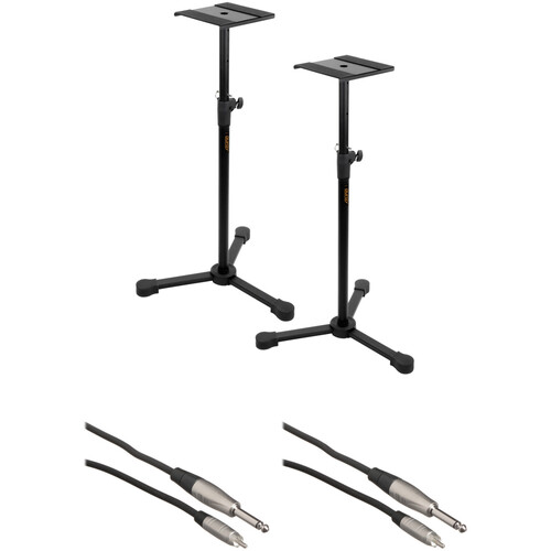 B&H Photo Video Studio Monitor Stands Kit with 1/4