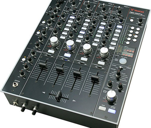 Vestax Pmc  Channel Digital Dj Mixer With Multi Effects