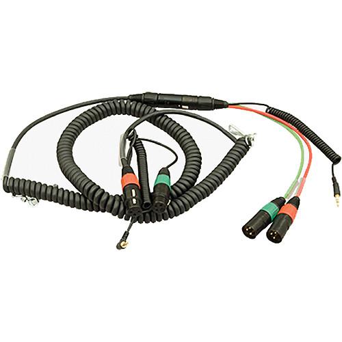 Ambient Recording Dual 3-Pin XLR-F + TRS Mini Plug to