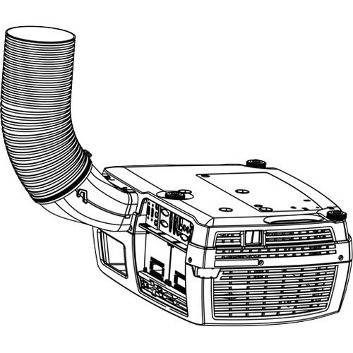 Barco Environmental Exhaust Kit for F3x Series R9801377 B&H