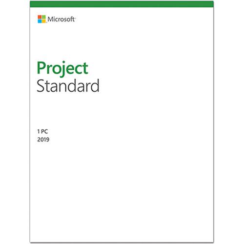 Microsoft Project Standard 2019 076-05795 B&H Photo Video