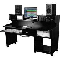 Omnirax ProStation Jr. Workstation (Black Melamine) PSJR-B B&H