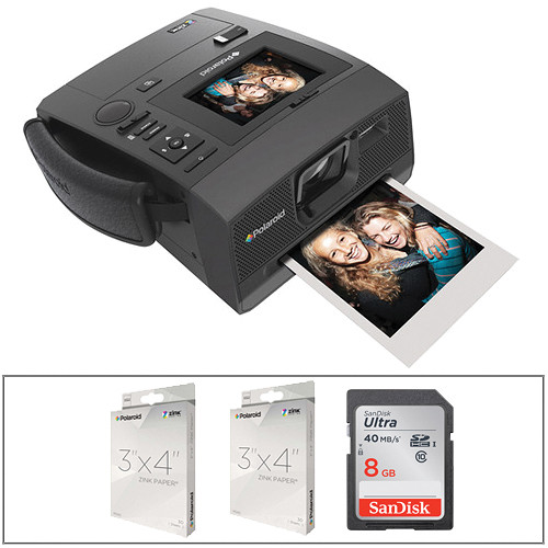 Polaroid Z340 Instant Digital Camera with SD Card and ZINK Paper