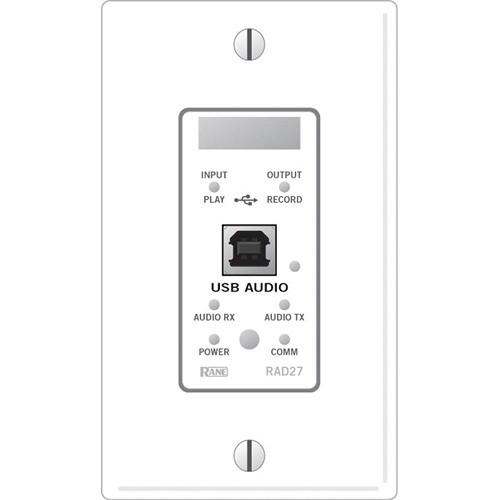 Rane RAD27 USB Audio Sound Card (White) RAD27W B&H Photo Video