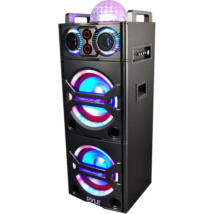 Led Light Based Music Stereo With Multi System