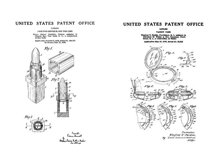 Makeup Patent Art Duo