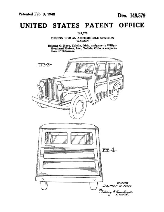 148579-Design for an Automobile Station Wagon