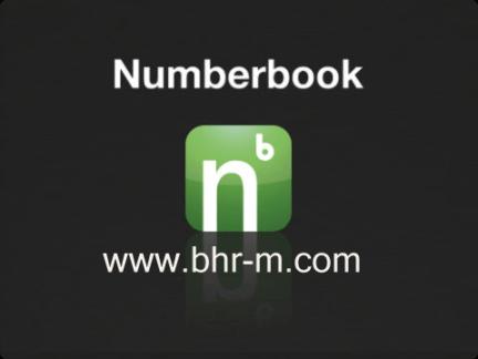 NumberBook