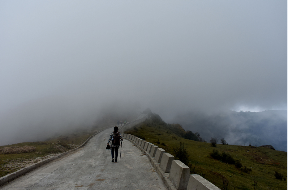 on the wat to Meghma