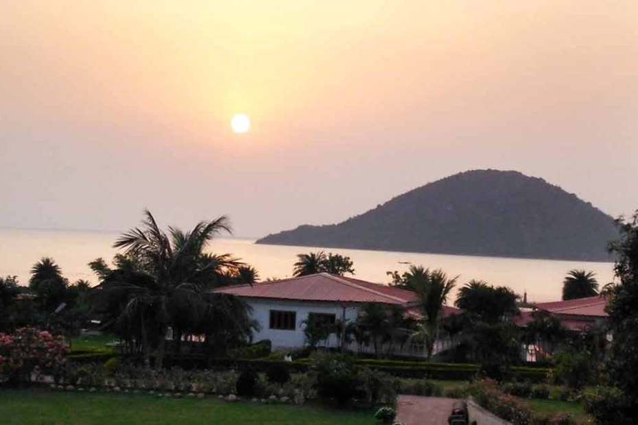 sunrise on Chilika Lake