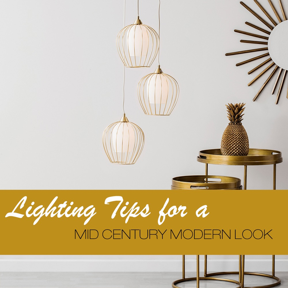 new mid century lighting collection