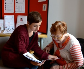 At the drop in you can see an advocate for one to one support with an issue or to get information