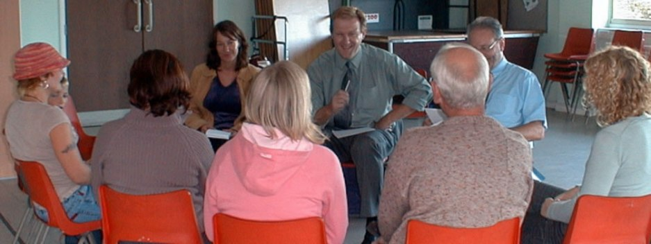 Photograph of Client involvement workshop