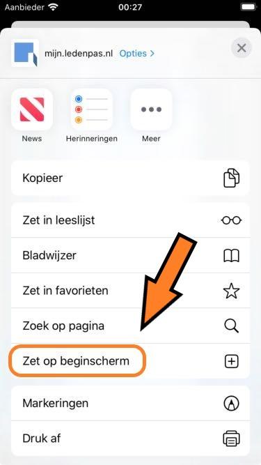 Extra - iPhone stap B