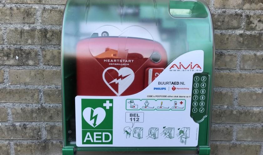 AED dekking in Tanthof nu volledig