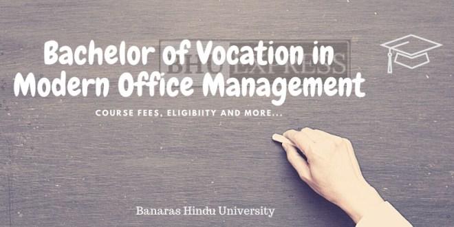 B.Voc in Modern Office Management